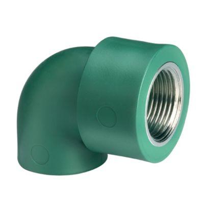 Codo termo fusión 32 x 1/2 hembra 90 aqua system