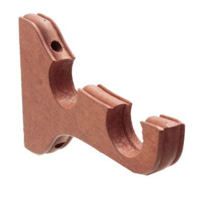 Soporte doble 35 mm cedro