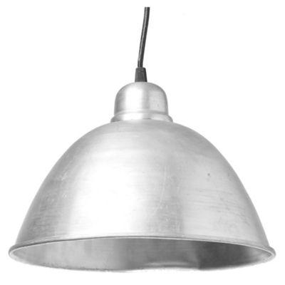 Lámpara de techo colgante una luz galpón aluminio 29 cm E27