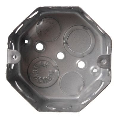 Caja de hierro octogonal chica 8 cm