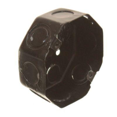 Caja de hierro octogonal grande 10 cm