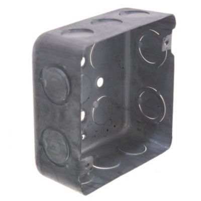 Pack de 5 u cajas de hierro cuadradas