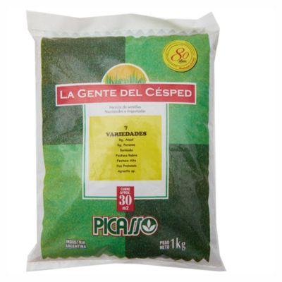 Semilla césped 7 variedad 500 g