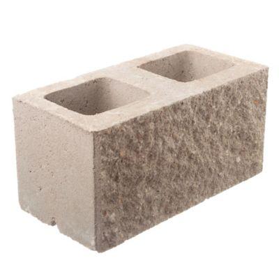 Bloques para muro símil piedra 20 cm espesor