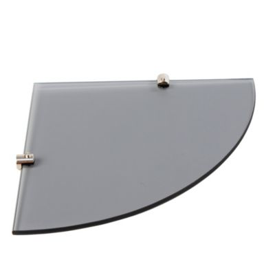 Repisa esquinera 25 x 25 cm gris