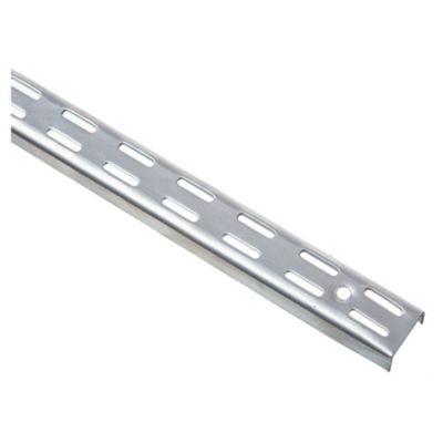 Riel para mensula doble aluminio 100 cm