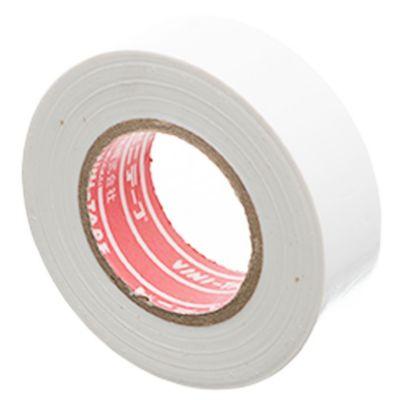 Cinta aisladora PVC blanca 10 m