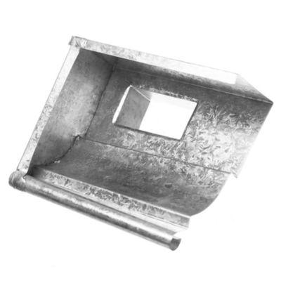 Boqueta chapa pecho paloma para canaleta