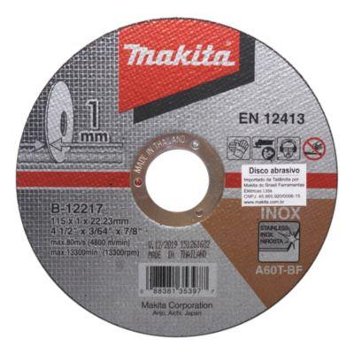 Disco corte acero iinoxidable 115 mm