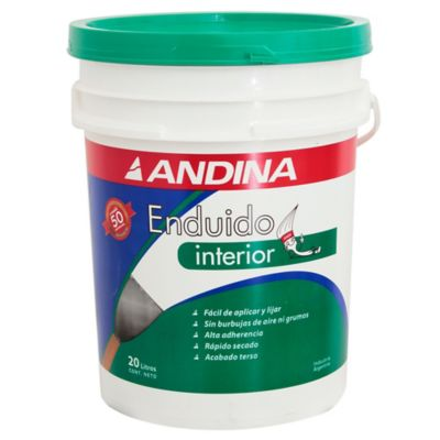Enduido interior 20 l