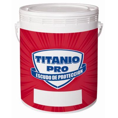 Pintura látex interior mate titanio pro 4 l
