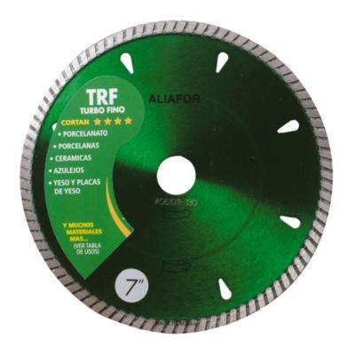 Disco diamantado turbo fino 7