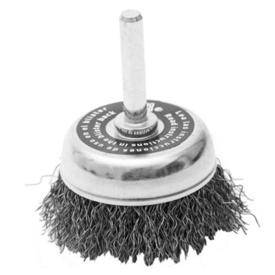Cepillo copa con perno 50 mm