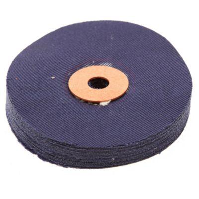 Disco paño de tela algodón 80 mm