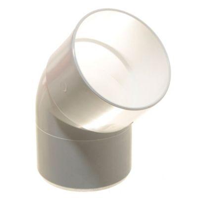 Codo PVC a 45° mh 110 mm