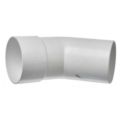 Curva PVC a 45° mh 110 mm