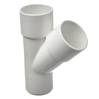 Ramal PVC a 90° hh 40 x 40 mm