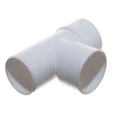 Ramal PVC a 90° mh 63 x 63 mm