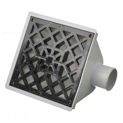 Embudo horizontal PVC 63 mm