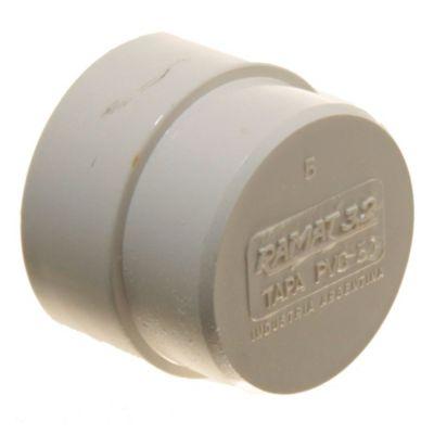 Tapa PVC 50 mm