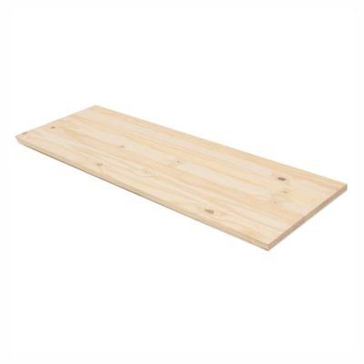 Estante pino 40 x 115 x 2 cm