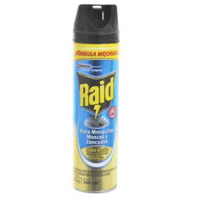 Aerosol mata moscas y mosquitos doble acción 360 cm3