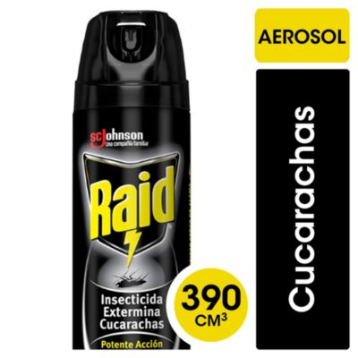 Insecticida mata cucarachas en aerosol 360 cm3