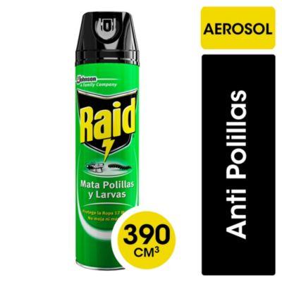 Insecticida mata polillas y larvas en aerosol