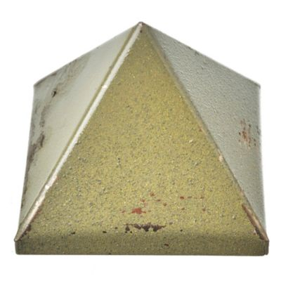Tapa pirámide 8 x 8 cm chapa plegada