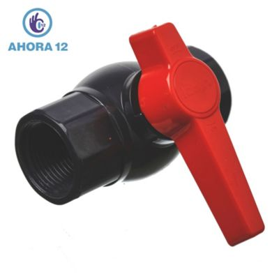 Válvula esférica PVC 1