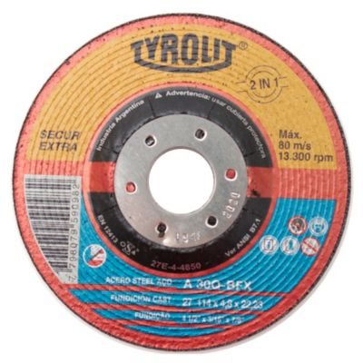 Disco corte metal 115 mm