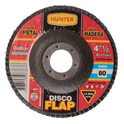 Disco flap 115 mm óxido de aluminio