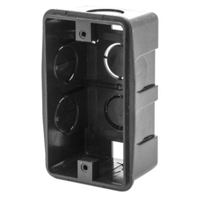 Caja rectangular de PVC 5 x 10 cm