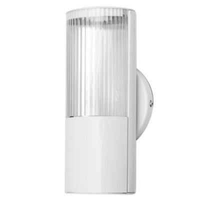 Tubo de techo para cocina una luz Aplique Mini-Fox blanco E27