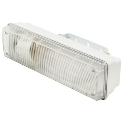 Tubo de techo para cocina una luz Plafón Mini-Fox blanco E27