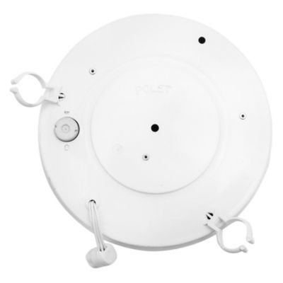 Tubo de techo para cocina dos luces circular con acrílico 22+32 w
