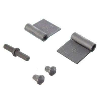 Bisagra para soldar reforzada 80 x 33 x 33 mm