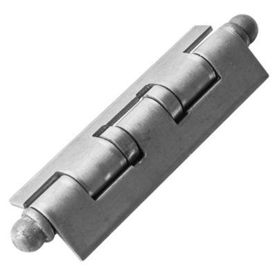 Bisagra tipo munición para soldar 100 x 37 reforzada izquierda