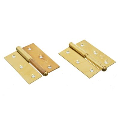Bisagra ficha para carpintería 63 bronceado oro