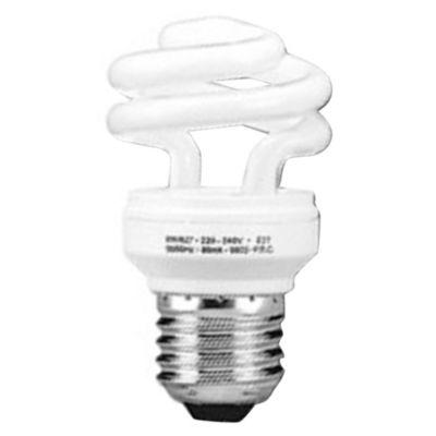 Lámpara Bajo consumo Helicoidal 8w Fría E27