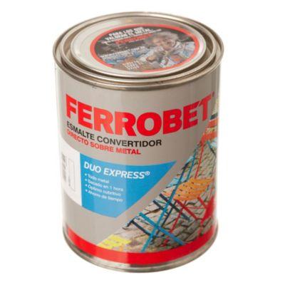 Convertidor ferrobet duo express blanco 0.5 l