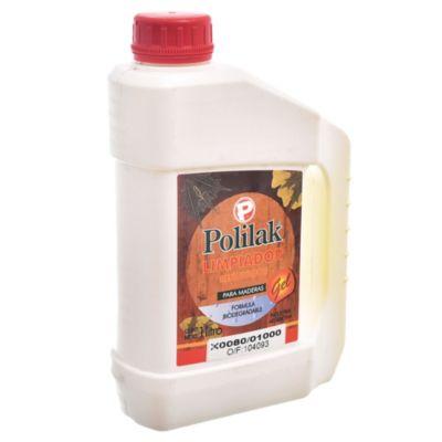 Limpiador renovador para madera polilak gel 1 l