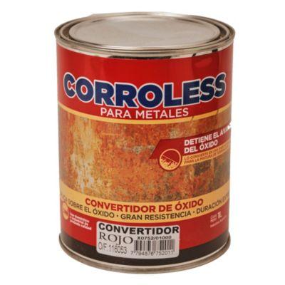 Convertidor de óxido corroless rojo 1 l
