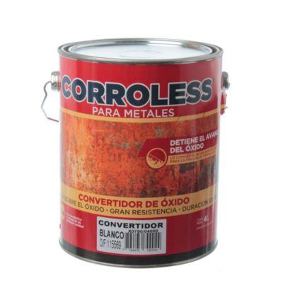 Convertidor de óxido corroless blanco 4 l