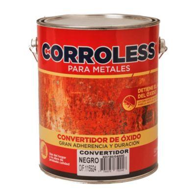 Convertidor de óxido corroless negro 4 l