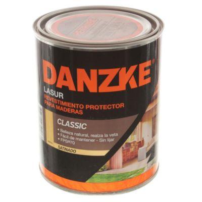 Protector para maderas danzke lasur satinado cr...