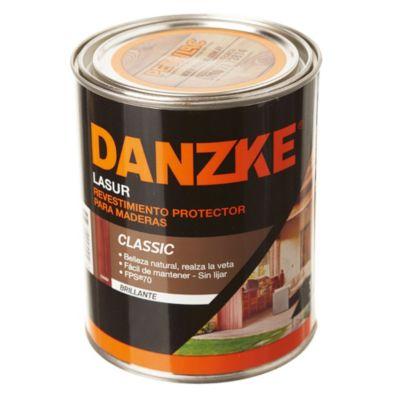 Protector para maderas danzke lasur brillante c...