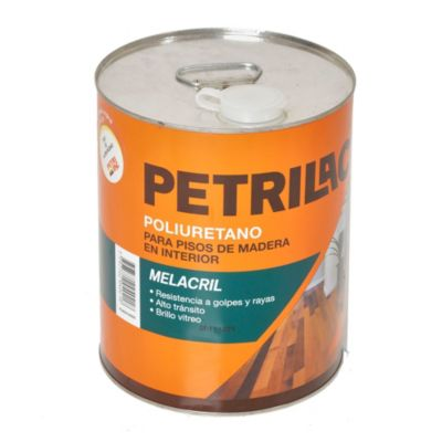 Revestimiento poliuretánico para pisos melacril 4 l
