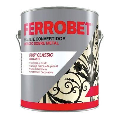 Convertidor ferrobet duo classic blanco 4 l