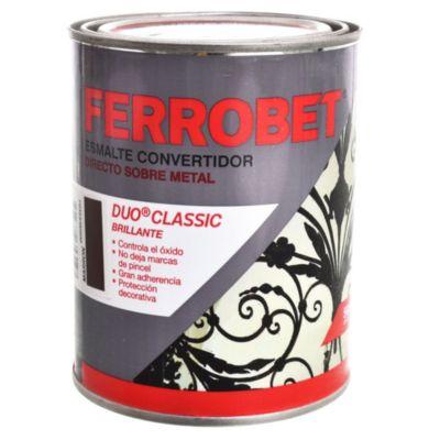 Convertidor ferrobet duo classic marrón 0.5 l